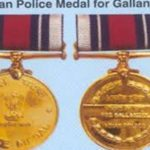 Uniformed, distinguished, commendable and gallantry medal received
