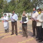 Divisional Commissioner administered the oath on National Voters' Day