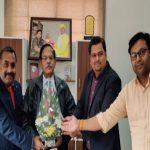 Former IPS Rajeev Mathur as the chancellor of Shri Rawatpura Sarkar University