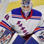 Alexandar Georgiev records his fifth NHL career shutout