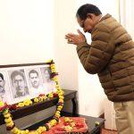 Chief Minister Chouhan salutes the martyrs