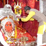 Chief Minister Shri Chouhan offered prayers at Maa Tulja Bhavani and Maa Chamunda Mata Temple