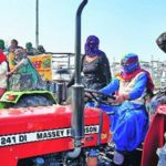Farmers' daughters drive tractors on Ludhiana roads, garner support