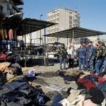 IS claims twin suicide bombings in Iraq's Baghdad