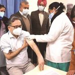 Vaccines off to smooth start, cross 2-lakh mark; dip in active cases