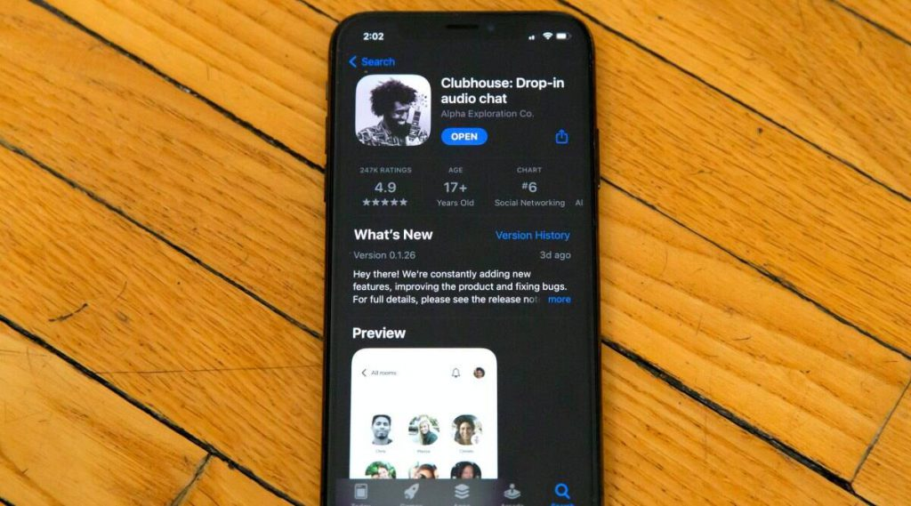 Clubhouse app, Clubhouse