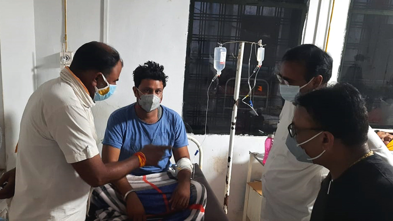 Medical facilities are being provided to all in need